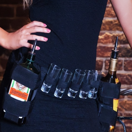 Square Bottle Holder